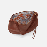 Cosmo Toffee Leather Crossbody