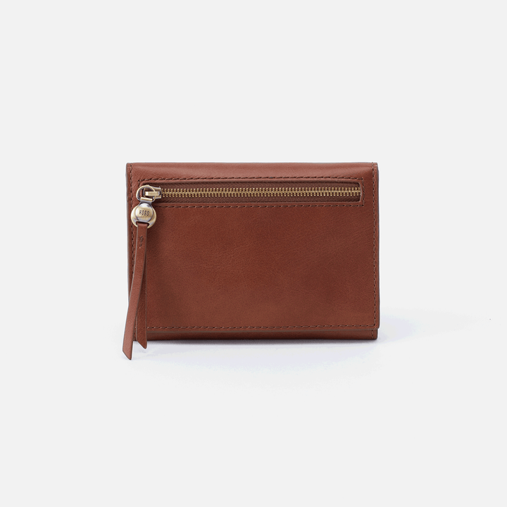 Cove Brown Leather Small Wallet