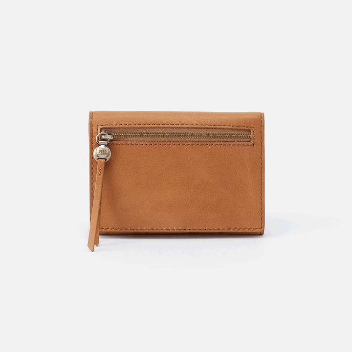 Cove Cognac Brown Leather Small Wallet