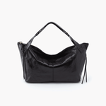 Current Black Leather Satchel
