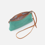 Darcy Seafoam Leather Crossbody