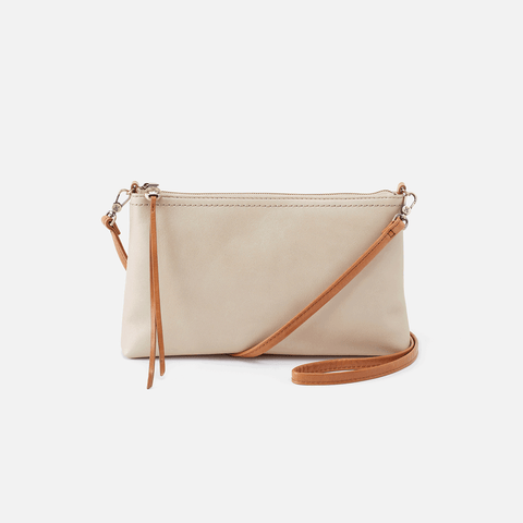 Darcy Sandshell Leather Crossbody