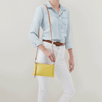Darcy Lemongrass Leather Crossbody