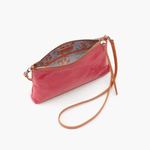 Darcy Pink Leather Small Crossbody