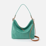 Delilah Seafoam Leather Crossbody
