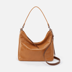Delilah Cognac Brown Leather Crossbody & Shoulder Bag