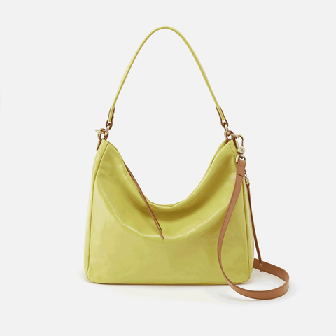 Delilah Lemongrass Leather Crossbody