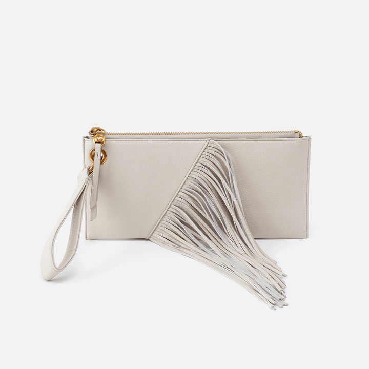 Dizzy Dew Leather Wristlet