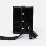 Doggone Black Leather Dog Leash