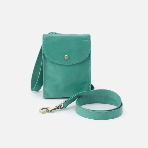Doggone Seafoam Leather Dog Leash