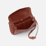 Driver Brown Leather Crossbody