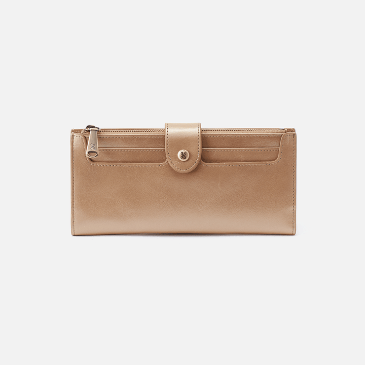 Dunn Gold Leather Wallet