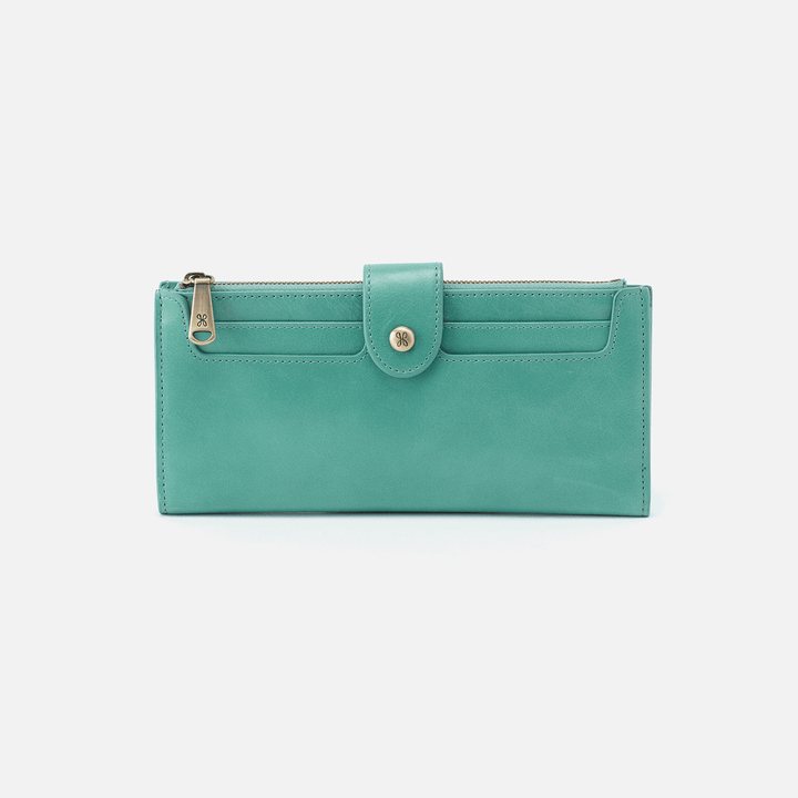 Dunn Seafoam Leather Wallet