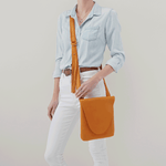 Echo Butterscotch Leather Crossbody