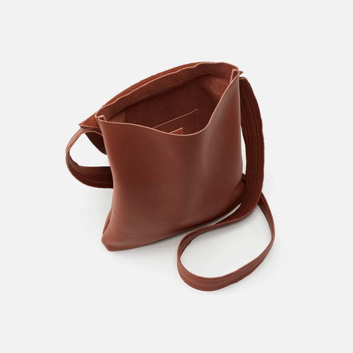 Echo Toffee Leather Crossbody