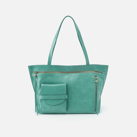 Edition Seafoam Leather Tote