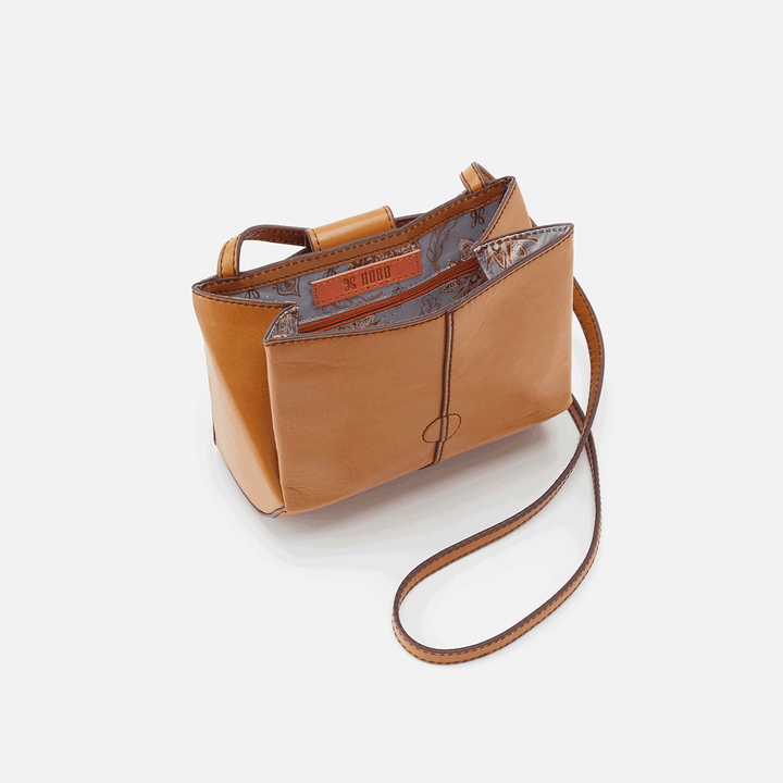 Elan Honey Leather Crossbody