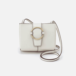 Elan Latte Leather Crossbody
