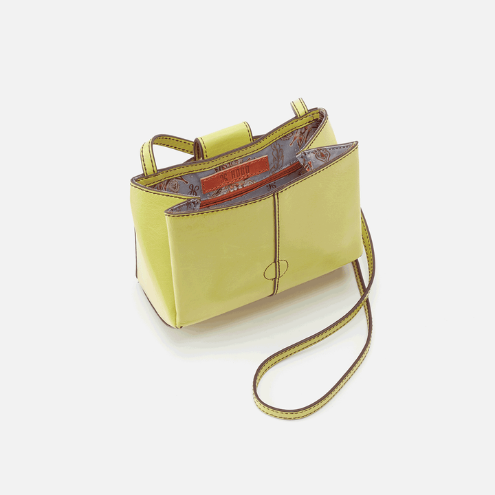 Elan Lemongrass Leather Crossbody