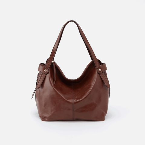 Elegy Brown Leather Satchel