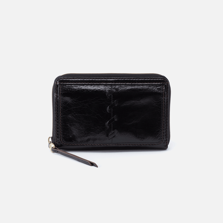 Elm Black Leather Wallet