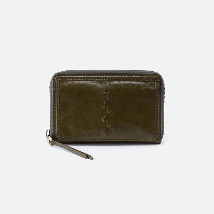 Elm Green Leather Wallet