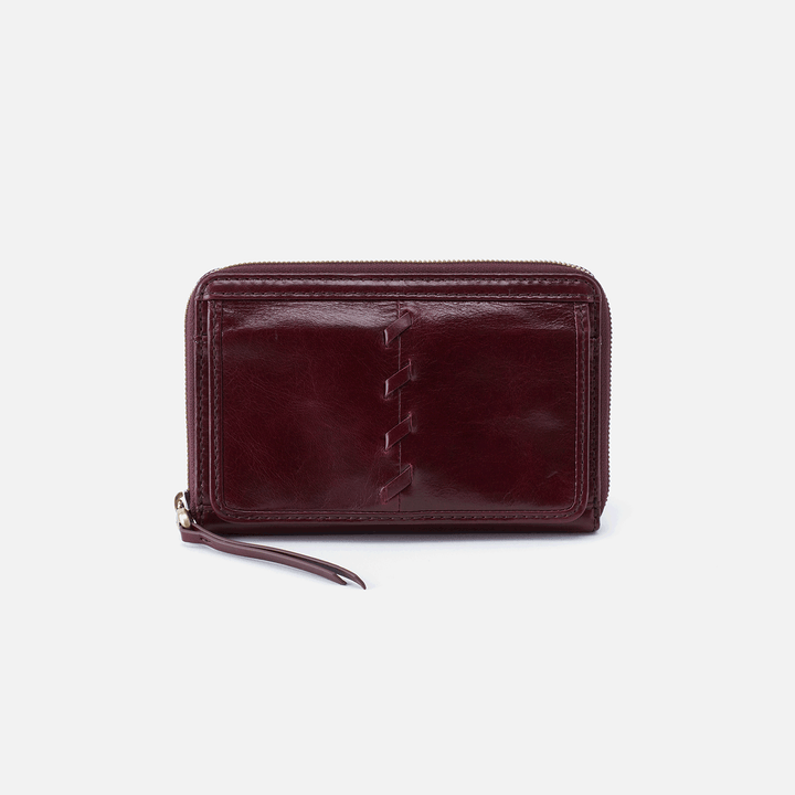 Elm Purple Leather Wallet