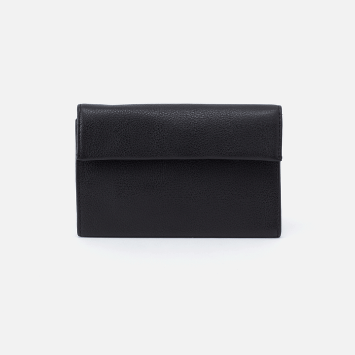 Ember Black Leather Wallet