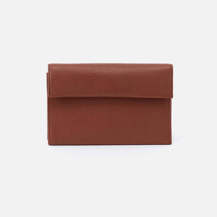 Ember Toffee Leather Wallet