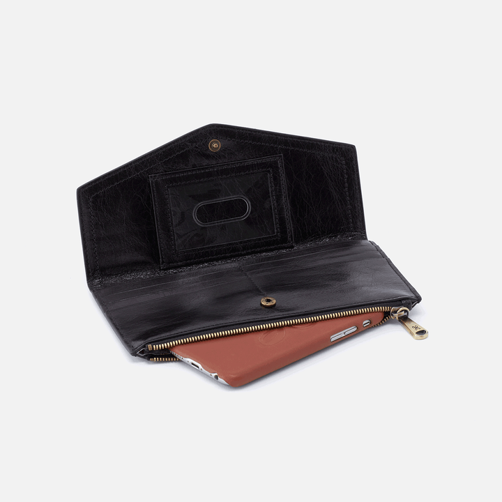 Esprit Black Leather Wallet