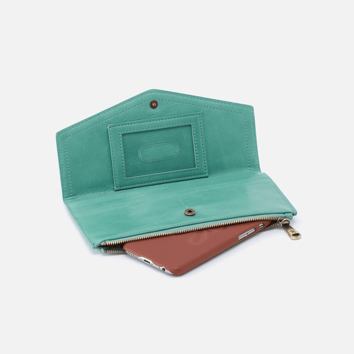 Esprit Seafoam Leather Wallet
