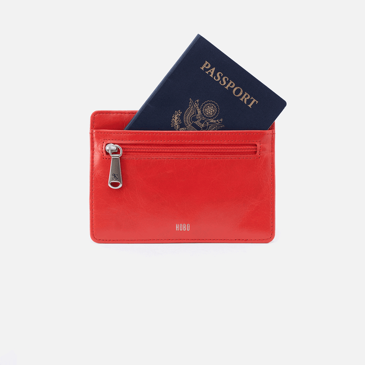 Euro Slide Rio Leather Credit Card Wallet
