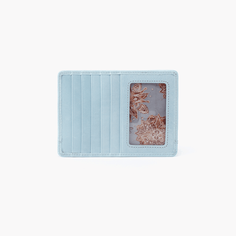 Euro Slide Blue Leather Passport Wallet