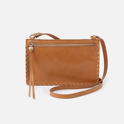 Evoke Honey Leather Crossbody