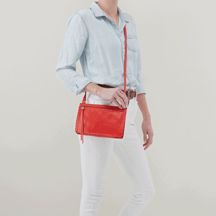 Evoke Rio Leather Crossbody