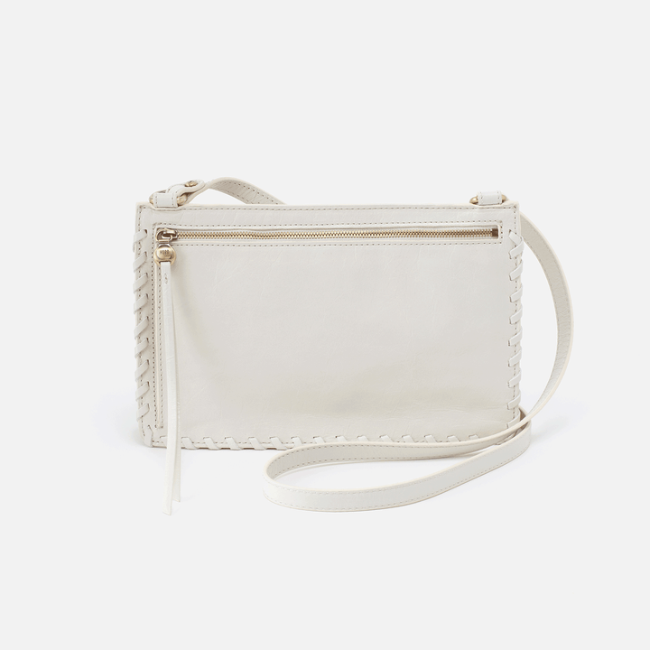 Evoke Latte Leather Crossbody