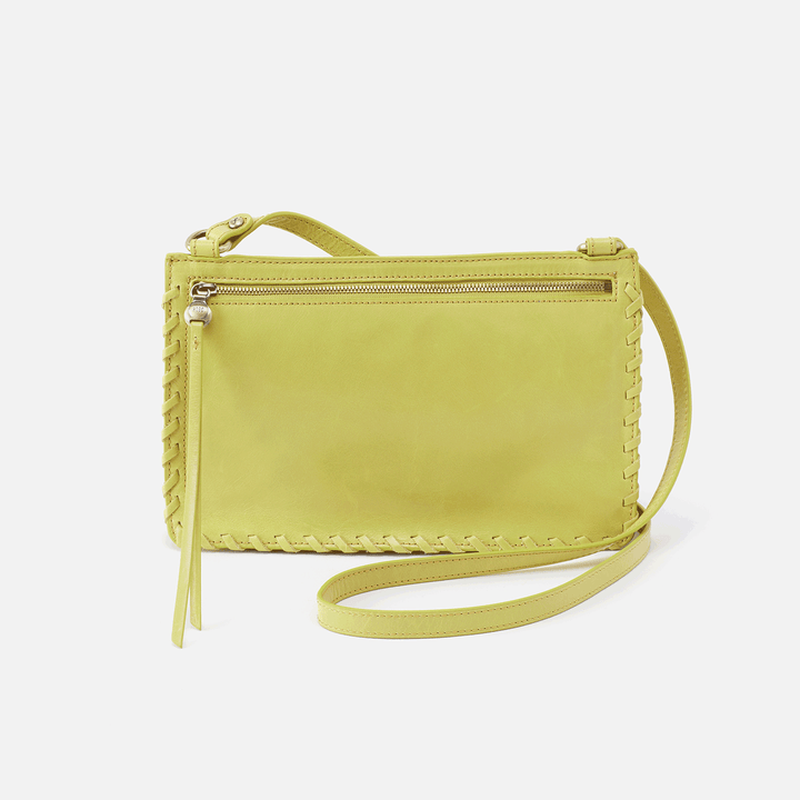 Evoke Lemongrass Leather Crossbody