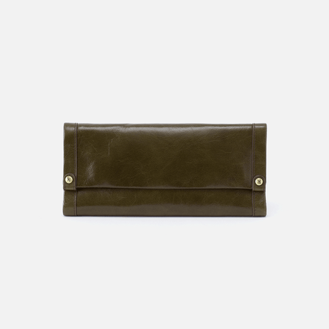 Fable Green Leather Wallet
