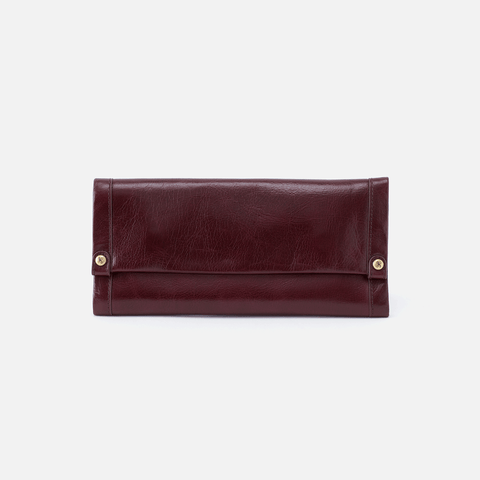 Fable Purple Leather Wallet