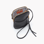 Fate Black Leather Small Crossbody