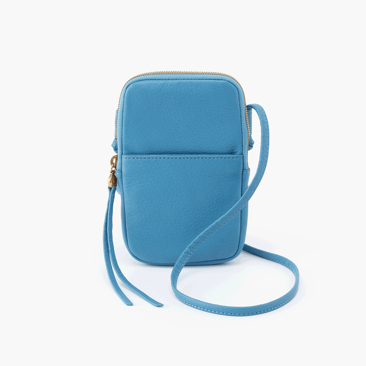 Fate Blue Leather Small Crossbody
