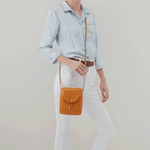 Fern Butterscotch Leather Crossbody