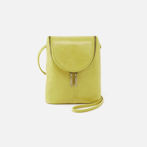 Fern Lemongrass Leather Crossbody