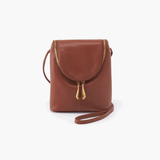 Fern Brown Leather Small Crossbody