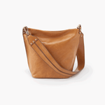 Flare Cognac Brown Leather Shoulder Bag
