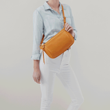 Flywheel Butterscotch Leather Belt Bag