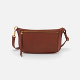 Flywheel Toffee Leather Belt Bag