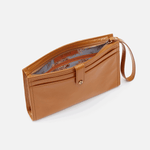 Force Honey Leather Wristlet