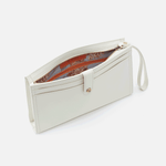 Force Latte Leather Wristlet