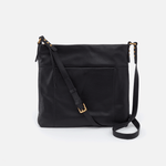 Forest Black Leather Crossbody & Shoulder Bag